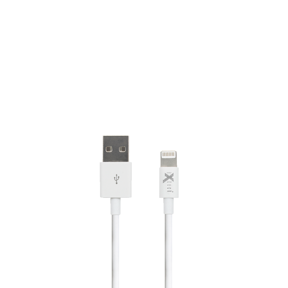 Durable series 1M iphone cable – white